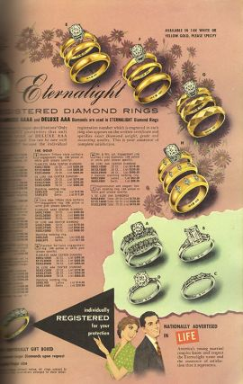 WHOLESALE JEWELRY CATALOG: Number 12 1956-1957 [Cover Title - Illustrated Product Catalog]