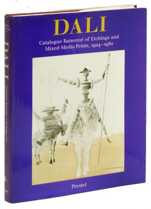 SALVADOR DALI: Catalogue Raisonne of Etchings and Mixed-Media Prints 1924-1980