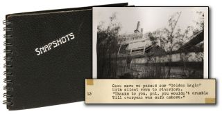Original Photograh Album of the Sinking of the Golden Eagle Steamboat