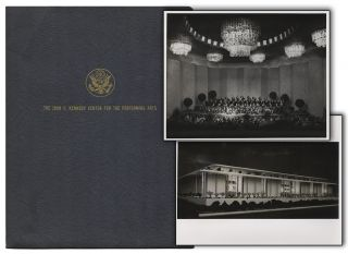 Original Press Kit from the Ground-Breaking Ceremony for the John F. Kennedy Center for the...