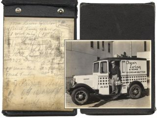 A Depression-Era Milkman's Promotional Photograph Album