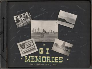 Archive of 1100+ Original Photographs of a WWII Soldier's Life in the Pacific Theater]. Peter R....