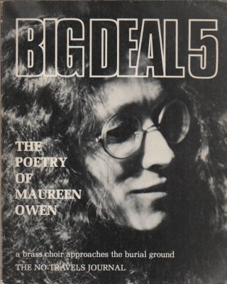 BIG DEAL 5: The Poetry of Maureen Owen