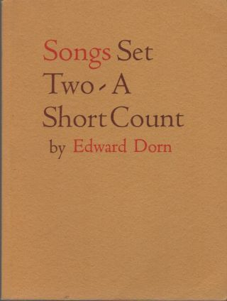SONGS Set Two: A Short Count