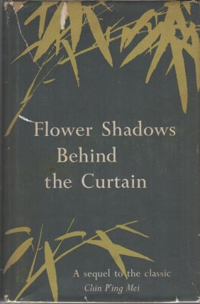 FLOWER SHADOWS BEHIND THE CURTAIN