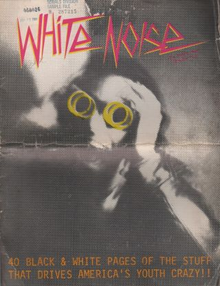 WHITE NOISE - Volume 1 Number 1