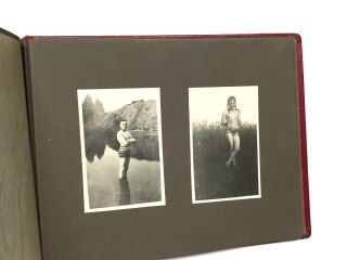 Photo Album of German Bathers