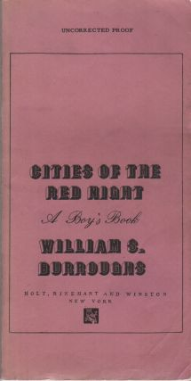CITIES OF THE RED NIGHT: A Boy's Book