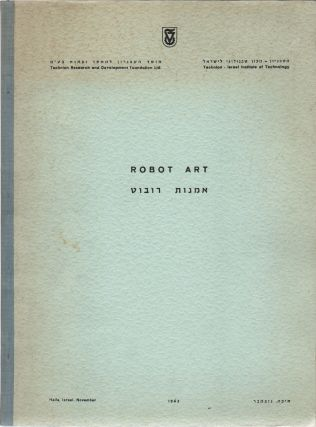 ROBOT-ART: Research No. AR 10 of the Faculty of Architecture