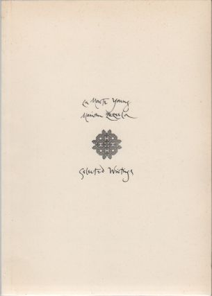 SELECTED WRITINGS. La Monte YOUNG, Marian Zazeela