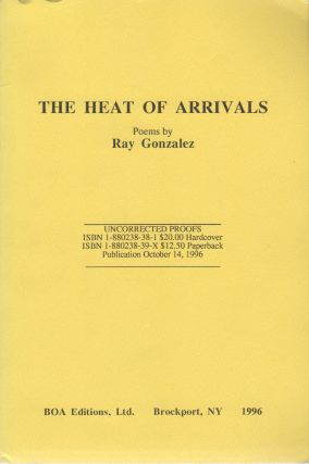 THE HEAT OF ARRIVALS