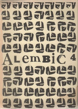 ALEMBIC 4: A Novel of New Poetry, Prose and Graphics