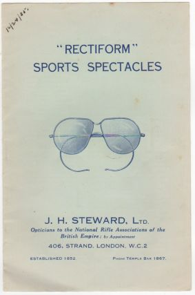"""Rectiform"" Sports Spectacles. Fashion, Ltd J H. Steward"