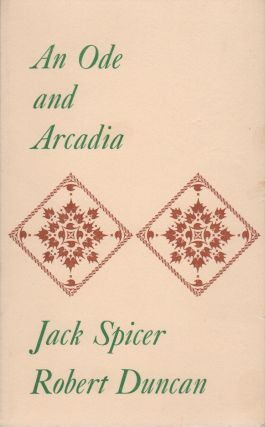 AN ODE AND ARCADIA