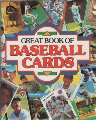 GREAT BOOK OF BASEBALL CARDS