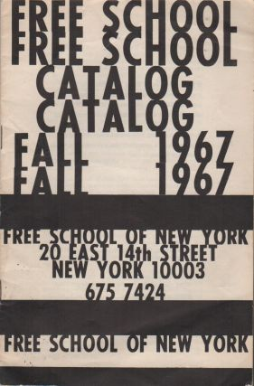 Course Catalog for the Free School of New York