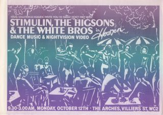 [Collection of Six Original Flyers for Shows Produced by...]