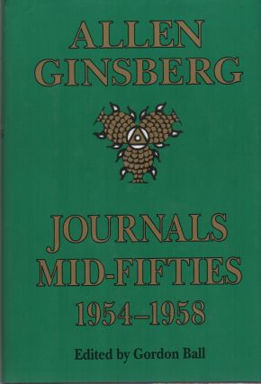 JOURNALS MID-FIFTIES 1954-1958. Allen GINSBERG