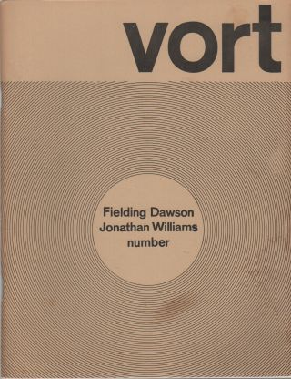 VORT #4: Fall 1973. Barry ALPERT