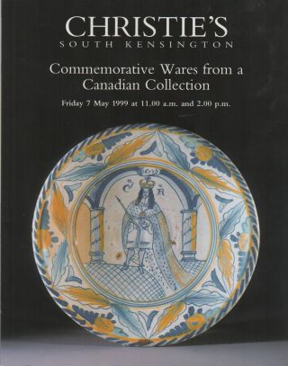 COMMEMORATIVE WARES FROM A CANADIAN COLLECTION