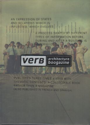 VERB PROCESSING: Architecture Boogazine [Cover Title