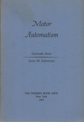 MOTOR AUTOMATISM