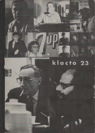 KLACTO/23 Special – September 1967 [KLACTOVEEDSEDSTEEN]. Carl WEISSNER, Allen Ginsberg William...