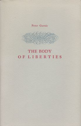THE BODY OF LIBERTIES