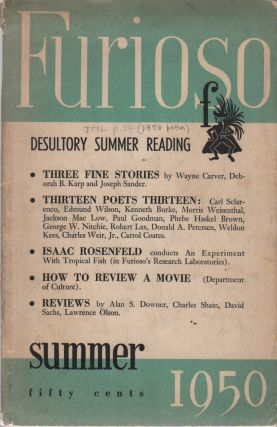 FURIOSO - Vol. 5 No. 3 - Summer 1950
