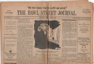 THE BAWL STREET JOURNAL - Vol. 38 No. 1 - June 4, 1965