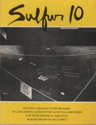 SULFUR 10: A Literary Tri-Quarterly of The Whole Art