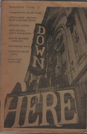 DOWNHERE: A Magazine from the East Village Volume One Number One