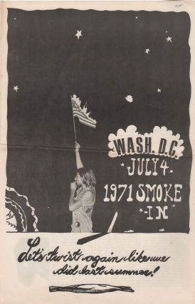 WASH. D.C. JULY 4, 1971 SMOKE-IN: Let's Twist Again Like We Did Last Summer! Yippies, Drugs