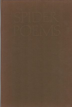 SPIDER POEMS. Walter HALL, Walter Hamady, Printer