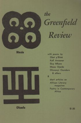 THE GREENFIELD REVIEW - Vol. 1 No. 4