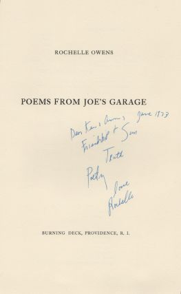 POEMS FROM JOE'S GARAGE