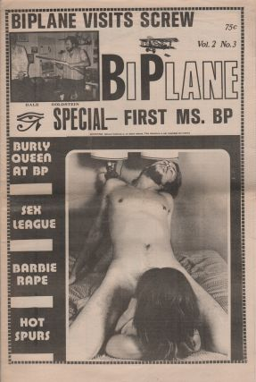 BIPLANE - Vol. 2 No. 3. Pornography, Erotic Newspapers