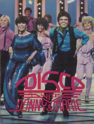 DISCO WITH DONNY & MARIE: A Step by Step Guide to Disco Dancing