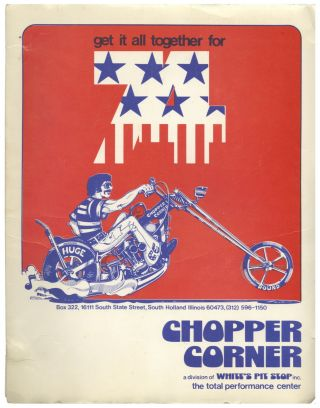 GET IT ALL TOGETHER FOR 74 [Custom Chopper Accessories Catalog]. Motorcyles, Trade Catalogs