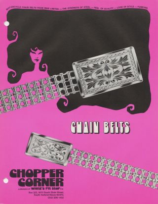 GET IT ALL TOGETHER FOR 74 [Custom Chopper Accessories Catalog]