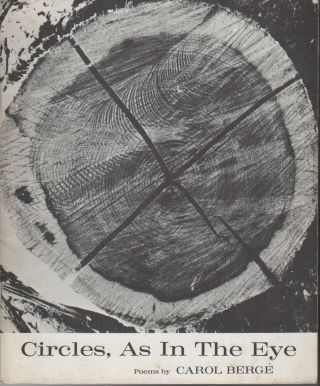 CIRCLES, AS IN THE EYE: Poems