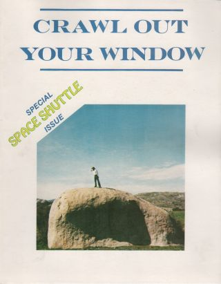 CRAWL OUT YOUR WINDOW - #8: Special Space Shuttle Issue [Cover Subtitle