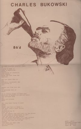 NITTY-GRITTY (A Survival Tool Chest) Birth - Vol. 1 No. 1 [With Charles Bukowski Broadside]