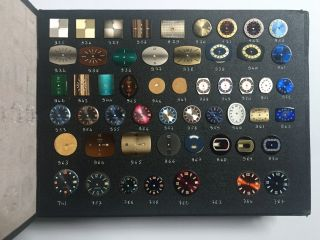 Salesman's Sample Book of Watch Faces