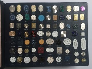 [Salesman's Sample Book of Watch Faces]