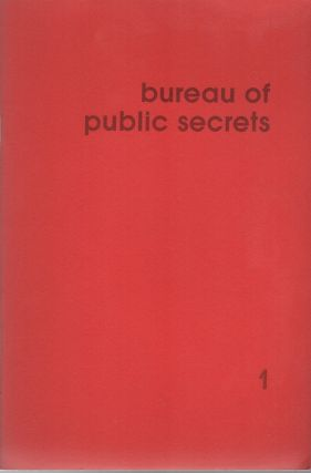 BUREAU OF PUBLIC SECRETS 1 – January 1976