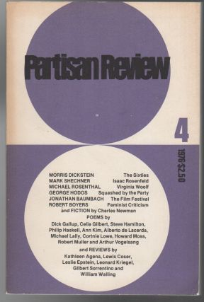 PARTISAN REVIEW - Vol. XLIII - No. 4 - 1976