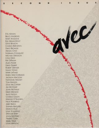 "AVEC: A Journal of Writing: The ""X"" Issue (Second Issue). Cydney CHADWICK"
