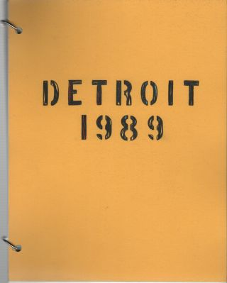 DETROIT 1989 - Volume Three