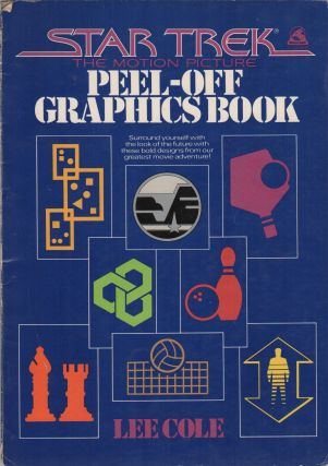 STAR TREK: The Motion Picture - Peel Off Graphics Book
